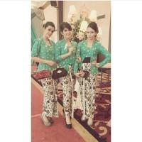 Kebaya Batik Seragam / Kebaya Batik Blus Jumputan