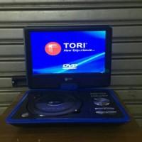 DVD PORTABLE TORI Layar 10' Inch