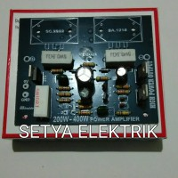 Kit Power Amplifier 200-400W Tanpa TR Final