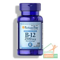 Puritan Pride Vitamin B-12 2500 mcg Sublingual 100 Microlozenges  B12