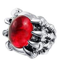 harga Cincin Dragon Claw Batu Ruby Zicron Para Biker Tokopedia.com