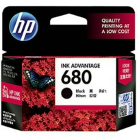 CARTRIDGE HP 680 ORIGINAL  BLACK UTK PRINTER 1115/2135/3635/3835/4675
