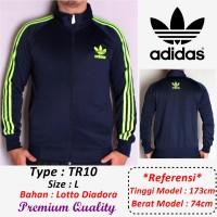 Jaket Adidas bahan Lotto Diadora , Adem & Berkualitas (TERMURAH!!)TR10
