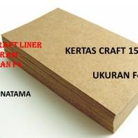 kertas coklat samson kraft 150 gr ukuran F4