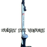 harga FLOOR PUMP HIGH PRESSURE WITH GAUGE / POMPA BAN SEPEDA BY POLYGON Tokopedia.com