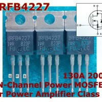 IRFB4227 200v 130A Class D Power Mosfet Amplifier Type-N IRFB4227PBF