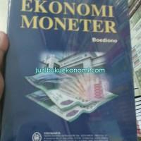 Buku Ekonomi Moneter - Sinopsis Pengantar Ilmu Ekonomi No 5 - Boediono