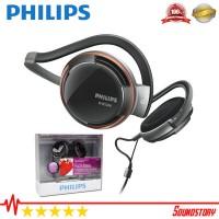 Philips SHS5200 Sport Headphone Neckband Original Garansi