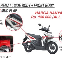 harga Paket Hemat / Body Protector Vario / Mud Flap Vario / Aksesoris Vario Tokopedia.com