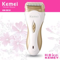 Kemei Rechargable Lady Shaver Hair Remover- KM 3018