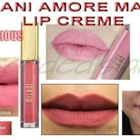 Jual milani amore matte lip creme precious Murah