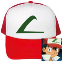 Topi pokemon go Logo L hijau