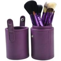 Kuas Make Up   Cosmetic Make Up Brush 12 Set with Round Case