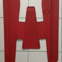 harga Karpet Sambung Dek Vespa Pts 90/100 (merah) Tokopedia.com