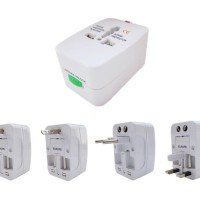 Universal Travel Adapter / Adaptor (EU + AU + UK + US Plug)