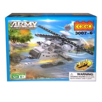 Brick lego Pesawat Cogo Amry action 3 in 1 3007- seri kendaraan tempur