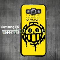 Pirates Yellow casing untuk Samsung Galaxy E J A Series