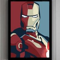 Poster + Pigura Art Ironman B2 (50x70cm)
