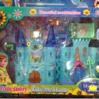 Mainan Rumah barbie Frozen