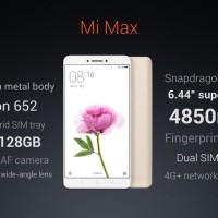 Xiaomi Mi Max 3/32GB (Gold, Silver) 4G - LTE Garansi Distributor