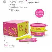 Tupperware Hello Kitty Meal time set