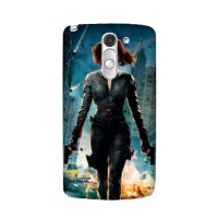 Black Widow X-Men Superhero LG G3 Stylus/LG G4 Custom Casing Hp