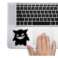 Tokomonster Decal Sticker Pokemon Gengar Macbook Pro And Air Mousepad