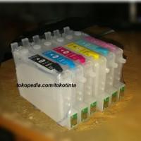 harga sale obral cartridge mciss epson r230 baru kosongan satu set lengkap Tokopedia.com