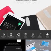 Free Anti Gores Lenovo Vibe K5 Note Nillkin Armor Hard Case Cover Back