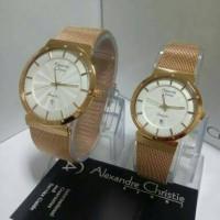 harga JAM TANGAN COUPLE ALEXANDRE CHRISTIE(AC)8385 PASIR ORIGINAL G-1THN Tokopedia.com