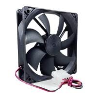 Fan Kipas Casing CPU Komputer Power Supply 12 Cm Black 12Cm Hitam