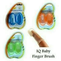 finger toothbbrush-sikat gigi jari bayi iq baby