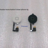 ORIGINAL 100% Flexible Jalur Home Button Iphone 4/4G / 4S