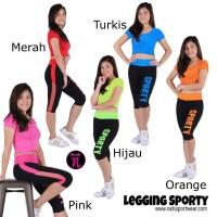 Setelan baju senam / Setelan baju aerobik / Setelan baju zumba