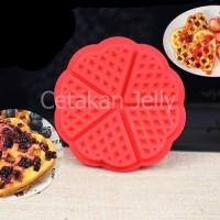 harga Cetakan Kue / Puding Round Waffle Tokopedia.com