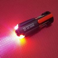 OBENG SENTER LED MULTIFUNGSI  (8 IN 1)