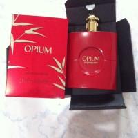 YSL red opium Yves Saint Laurent opium parfum