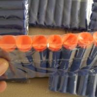 Peluru Nerf Suction Darts Refill Blue w/ Orange Tip