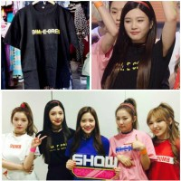 Tshirt Kaos RED VELVET JOY DUMB DUMB Dance Cover Korea Kpop