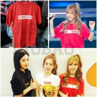 Tshirt Kaos RED VELVET WENDY DUMB DUMB Dance Cover Korea