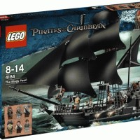 LEGO 4184 : The Black Pearl (Pirates of the Caribbean)
