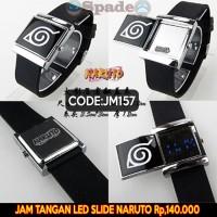 harga jam tangan naruto logo konoha LED slide (spade anime) Tokopedia.com
