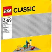 LEGO Classic, 48x48 Grey Baseplate (10701)
