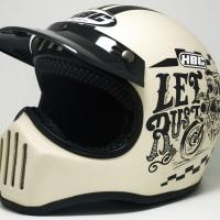 Helm Cakil Rust Dust Creamy Dop / Helm Cakil HBC / Helm Cakil SNI
