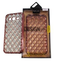 3D DIAMOND GRIP CASE for SAMSUNG GALAXY J5 ROSE GOLD
