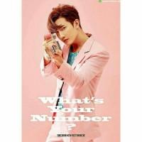 ZHOUMI Super Junior M - 2nd mini album What's Your Number? + poster