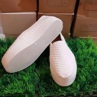 Jual Size 36 Sepatu Poxing Flat Boot Classic / Klasik Putih (RS007