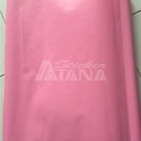 Jual Vinyl Color Pink (Merah Muda) Doff (Dop) Scotlite Sticker Murah
