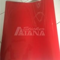 Jual Vinyl Color Merah (Red) Glossy Scotlite Sticker Murah