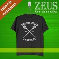 KAOS DISTRO , KAOS BLACK - Beacon Hills Lacrosse Logo